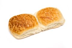 Two tiger bread rolls Stock Photos