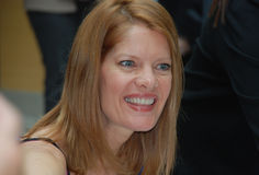 Two-time Emmy award-winning Actress. Michelle Stafford, of the daytime television show The Young and the Restless, during and autograph signing session at the royalty free stock photo