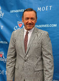 Two times Academy Award winner Kevin Spacey at the red carpet before US Open 2013 opening night ceremony. FLUSHING, NY - AUGUST 26: Two times Academy Award Stock Photography