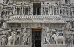 Two times Dwarapalaka, the door keepers. Stock Photography