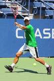 Two times Grand Slam Champion Lleyton Hewitt of Australia practices for US Open 2015 Royalty Free Stock Photo
