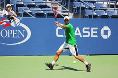 Two times Grand Slam Champion Lleyton Hewitt of Australia practices for US Open 2015 Stock Photo