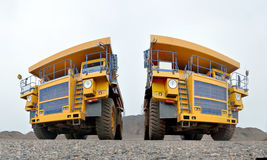 Two tippers Stock Images