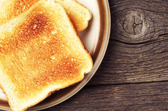 Two toast bread Stock Photo