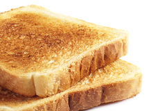 Two toast bread Royalty Free Stock Photography