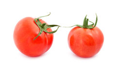 Two tomato dancing Stock Image