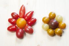 Two tomato stars Stock Photo