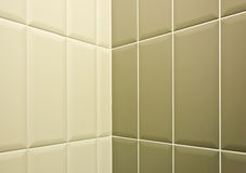 Two tone ceramic tiles background Stock Photo