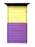Two tone color door Royalty Free Stock Photography