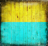 Two tone of colors on wood texture Royalty Free Stock Photography
