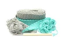 Two-tone crochet-trabaje Imagen de archivo libre de regalías