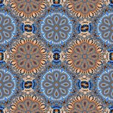 Two-tone fabulous seamless pattern. You can use it for invitatio. Ns, notebook covers, phone case, postcards, cards, ceramics, carpets and so on. Artwork for Royalty Free Stock Photo