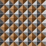 Two tone metalic studs seamless texture Royalty Free Stock Photos