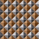 Two tone metalic studs seamless texture. Stock vector Royalty Free Stock Photos