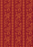 Two-tone modular indian fabric texture Stock Images