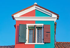 Two-tone window Royalty Free Stock Photo