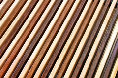 Two tone wood Royalty Free Stock Images