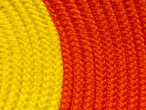 Two tone yellow and orange  background texture for text area Stock Photo