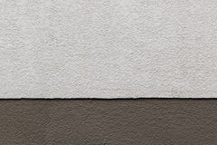 Two Tones Brown Texture on Concrete Wall Stock Photography