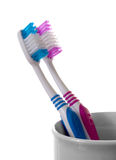 Two toothbrush Royalty Free Stock Image
