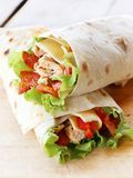 Two tortillas Royalty Free Stock Images
