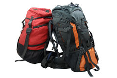 Two tourist backpacks Royalty Free Stock Image