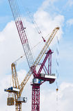 Two  Tower Crane Stock Photos