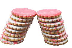 Two tower tasty pastry Stock Photo