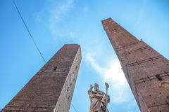 Two Towers Bologna Stock Photography