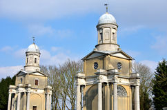 Two towers of Mistley Church essex Stock Photography