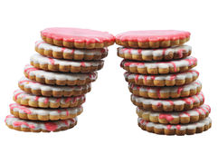 Two towers pastry Royalty Free Stock Image