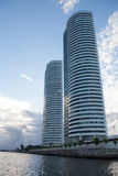 Two towers in Recife in Brazil Royalty Free Stock Photo