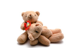 Two toy bears Stock Photo