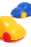 Two toy cars () Royalty Free Stock Image