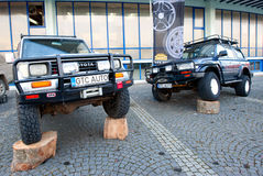 Two Toyota Land Cruiser Stock Photography