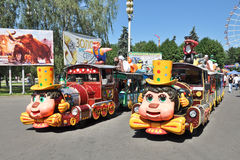 Two Trains for Kids Royalty Free Stock Image