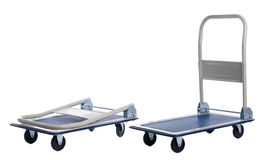 Two transport carts Royalty Free Stock Photography