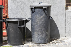 Two trash bins. Stock Photos