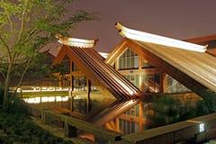 Two Triangular house Stock Photo