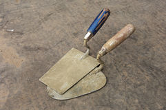 Two trowel Royalty Free Stock Image