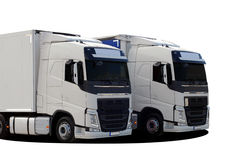 Two truck Stock Image