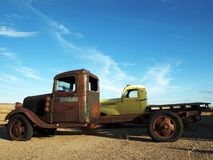 Two Trucks Stock Photo