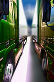 Two trucks Royalty Free Stock Images