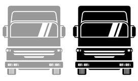 Two trucks royalty free illustration