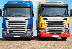 Two trucks Royalty Free Stock Photo