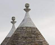 Two trulli Royalty Free Stock Photography