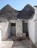Two Trulli Doors Stock Image