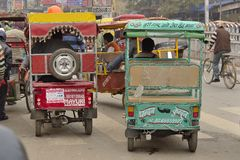 Two Tuk-tuk Royalty Free Stock Photography