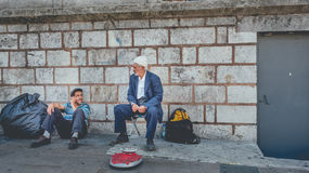 Two Turkish working class men. Stock Photography