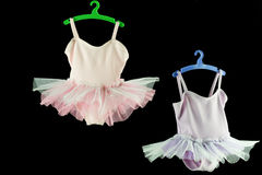 Two tutu for baby  hanging Stock Photos